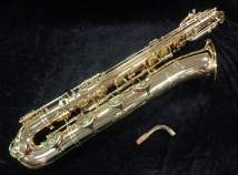 P. Mauriat PMB-301GL Gold Lacquer Low A Baritone Sax , Serial # PM0350518