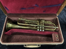Wow! Very Pretty VIntage Martin Committee Medium Bore Bb Trumpet, Serial #151361