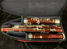 Fox Renard Model 260 Bassoon, Pro Model Wood Body, Serial #57873