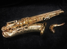 Vintage Yamaha YTS-62 Purple Logo Tenor Sax in Gold Lacquer, Serial #02401