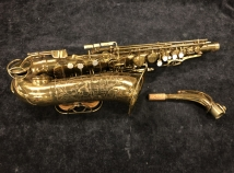 Vintage The Martin Committee III Alto Sax in Original Lacquer, Serial # 171892