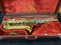 Original Lacquer King Cleveland USA Tenor Sax With New Pads - Serial # C125126