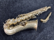 Original Gold Plated CG Conn New Wonder Portrait Model Alto Sax - Serial # 114620