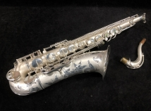 Vintage Selmer Paris Super Balanced Action - Satin Silver Plate Tenor Sax, Serial #48041