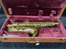 Original Lacquer SML Rev D Tenor Sax with Newer Pads - Serial # 10682