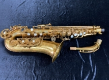 Vintage Original Lacquer Buffet Paris Super Dynaction Alto Saxophone, Serial #17073