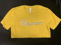 Saxquest Logo T-shirt in Yellow