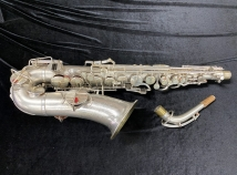 Original Silver Buescher 'New Aristocrat' Alto Sax with # 3 Neck - Serial # 267466