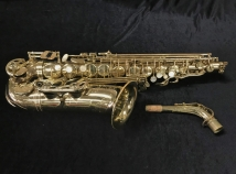 Selmer Paris Super Action 80 SII Alto Saxophone in Gold Lacquer, Serial 494435