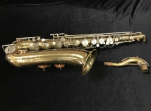 Vintage Martin Skyline Gold Lacquer Tenor Saxophone, Serial #117784