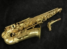 Cannonball Vintage Reborn 'Mad Meg' Alto Sax in Raw Brass Finish, Serial #V166580