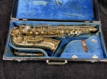 Original Lacquer King Super 20 Alto Sax with New Pads - Serial # 379695