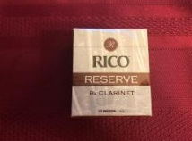 New Old Stock Rico Reserve Reeds for Bb Clarinet #4.5