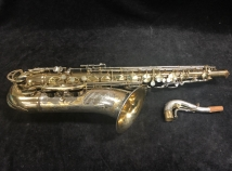 Vintage King Super 20 Silver Sonic Cleveland Ohio Tenor Sax, Serial #411160 - Freshly Overhauled!