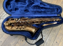 Cognac Lacquered P Mauriat 66RCL Tenor Saxophone - Serial # PM1013619