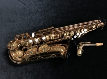 Mint Condition! Theo Wanne Mantra Alto Sax in Dark Clear Lacquer, Serial #10003