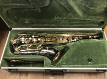 WOW! Near Mint Keilwerth SX90R Black Nickel Tenor Saxophone - 1990's, Serial #112885