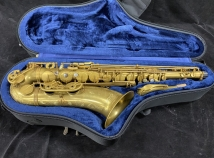 Great Deal on an Unlacquered P Mauriat System 76 2nd Edition Tenor Sax # PM0720719