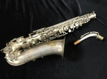 Vintage Holton Rudy Wiedoeft Model Alto Sax, Serial #39317 - Collector Piece