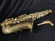 Vintage Selmer Paris New Large Bore Alto Saxophone Serial #11298
