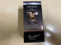 Vandoren Optimum Ligature for Bb Bass Clarinet in Black Finish
