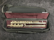 Beautiful Condition Yamaha YFL-482H Open Hole, Sterling Silver Low B Flute - Serial # L09593