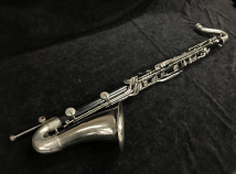 Selmer Bundy Bass Clarinet with Wood Hard Case and Floor Peg, Serial #9050 – Resonite