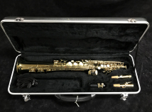 Bargin Price! Barrington Soprano Saxophone w/ Case and Two Necks