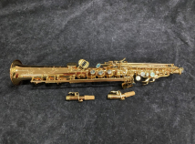 Lightly Used P Mauriat System 76 2nd Edition Soprano Sax - 2 Necks - Serial # PM0561419