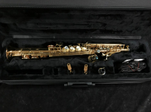 Lightly Used P Mauriat System 76 2nd Edition Soprano Sax - 2 Necks - Serial # PM0560419
