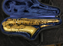 P. Mauriat System 76 Raw Brass Finish Tenor Sax, Serial #PM0227219