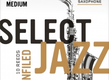 D'Addario Select Jazz Reeds - Filed & Unfiled - for Eb Alto Sax