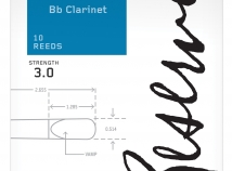 D'Addario Reserve Reeds for Bb Clarinet