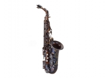 NEW Chateau CAS-50V Series Unlacquered Alto Saxophone in Vintage Finish