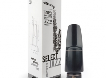 NEW! D'Addario Select Jazz Hard Rubber Mouthpiece for Alto Sax