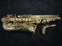 Grassi 2000 Alto Saxophone in Gold Lacquer Made in Italy, Serial #56946