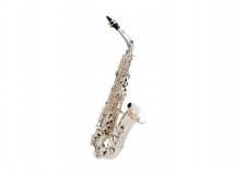 Buffet Crampon Senzo Red Brass Professional Model Alto Sax in Silver Plate