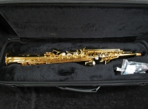 Eastman 642 Series Soprano Saxophone One Piece Body With Curved Neck