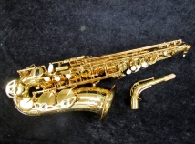New Forestone Japan Gold Lacquered Atlo Saxophone
