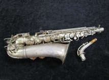 Vintage Holton Rudy Weidoff Model Alto Sax, Serial Number 34239