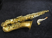 Vintage Original Lacquer King Super 20 - Pearl Side Key Tenor, Serial #300774