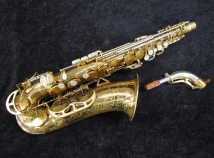 Vintage King Super 20 Alto – Early Pearl Side Key, Serial #281206