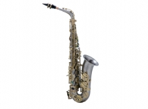 NEW Chateau CAS-96NM Series Pro Alto Saxophone in Nickel Matte Finish