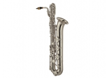 New Yamaha YBS-62S Professional Baritone Sax in Silver Plate