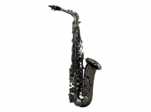 NEW Chateau CAS-80BB Series Pro Alto Sax in Black Nickel Plating