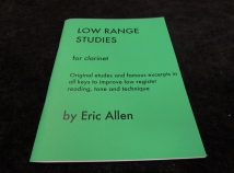 Low Range Studies by Eric Allen