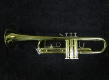 Pristine Bach Soloist Bb Trumpet with Case - Great Step Up Trumpet
