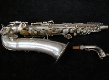 Original Silver Plated CG Conn 'Naked Lady' 6M VIII Alto Sax - Serial # 279194