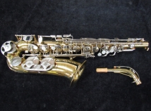 Selmer USA AS300 Alto Sax with Saxquest Set-Up, Serial #1282504