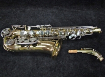 Selmer USA AS300 Alto Sax, Great Shape with Saxquest Set-up, Serial #1299356